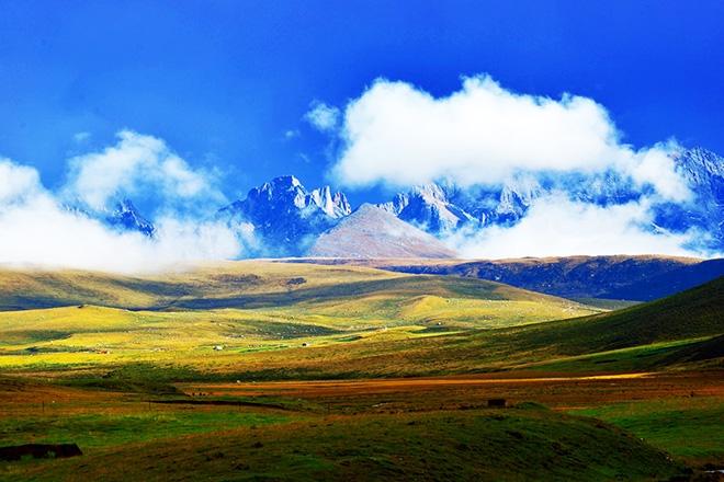 的藏乡·班玛县